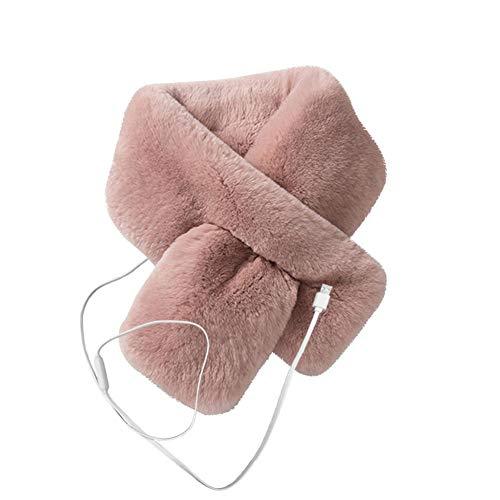 Beheizbarer Schal, USB Wiederaufladbar Einstellbare Temperatur Heiztuch Schal Wärmeschal Winter Warm Wear zum Outdoor Skifahren Wandern Klettern Camping