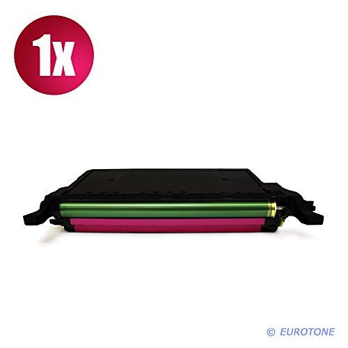 Eurotone Toner Ersatz Magenta XXL für Samsung CLP-620 ND NDK + CLP-670 N ND NDK NK + CLX 6220 6250 FX - Premium Altenative XL
