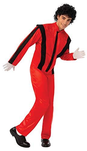 Bristol Novelty AC947 Superstar kostuum, rood