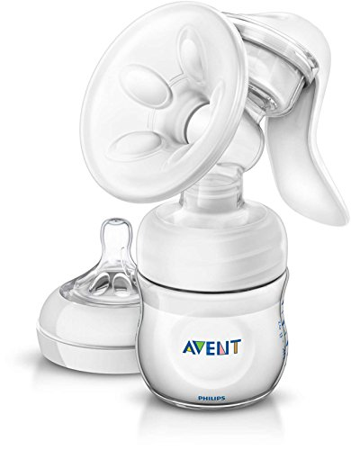 Philips Avent Manual Breast Pump, Clear, SCF330/20