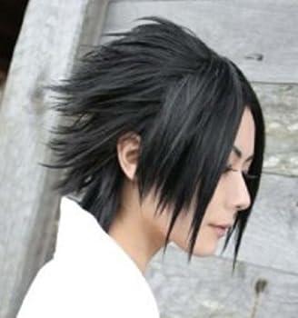 Amybria Popular Sasuke Short Black Straight Cosplay Wig…