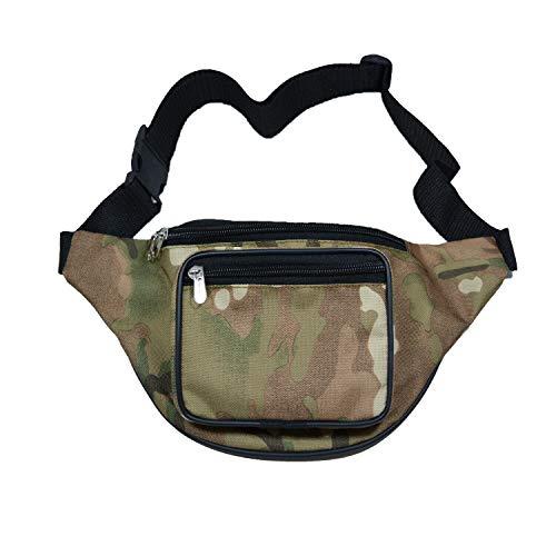 Beste riem Boom-Bag reizen taille Organizer (CAMO)