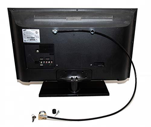 Flat Screen TV Lock Anti-Theft Security Kit KEYED Alike (Single Pack)