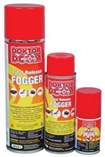 Doktor Doom Mini Total Release Fogger, 3 Ounce (Case of 12)