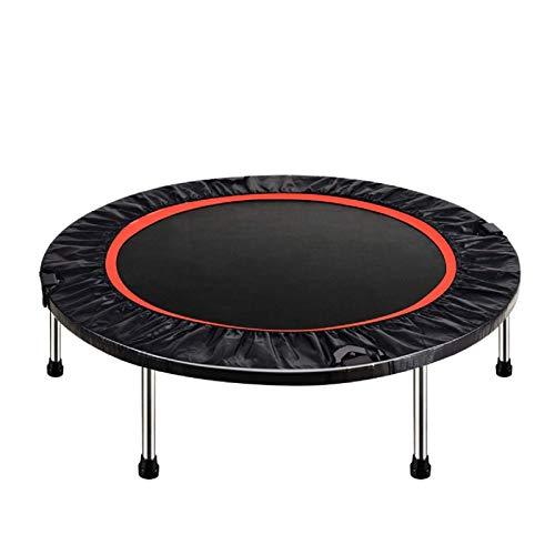 PQXOER Gimnasio trampolín plegable de 100 x 28 cm Mini trampolín de salto cardiovascular elástico gimnasio yoga ejercicio carga máxima 200 kg de entrenamiento trampolín