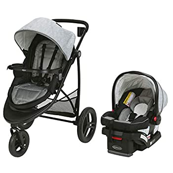 Graco Modes 3 Essentials LX Travel System   Includes Modes 3 Essentials LX Stroller and SnugRide SnugLock 30 Infant Car Seat Mullaly