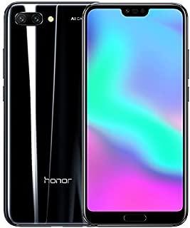 Honor 10 Dual SIM - 128GB, 4GB RAM, 4G LTE, Black