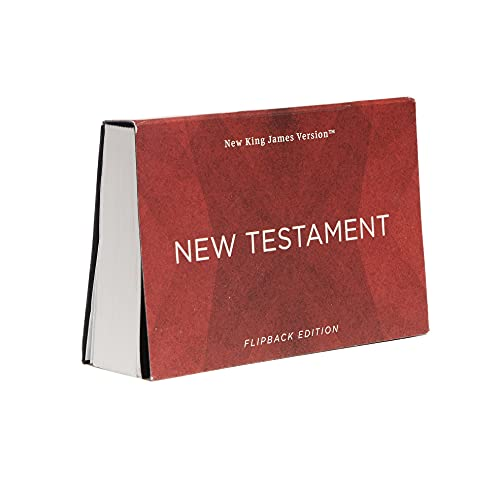 Compare Textbook Prices for NKJV New Testament, Flipback Edition, Paperback, Comfort Print: Holy Bible, New King James Version  ISBN 9780785247197 by Thomas Nelson