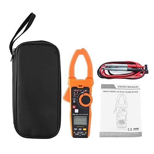 Pinza amperimétrica digital, 6V 60V600V 1000V Multímetro de pinza de mano Medidor de pinza de corriente de voltaje, Pinza amperimétrica de corriente de voltaje CA CC digital sin contacto(PM2118S)