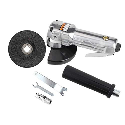 Amoladora angular 4 pulgadas Almohadilla de lijado Amoladora angular Pulidora Pulidora neumática Herramienta de pulido 11000 rpm