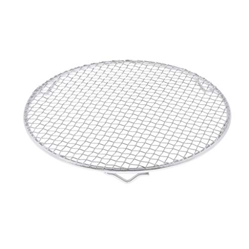 harayaa Portable BBQ Grill Mesh, Cooking Grill, BBQ Grill - Silver, Rectangle