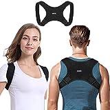 Haltungskorrektor Geradehalter für Männer und Frauen Oberer Rückenstrecker mit Verstellbarer atmungsaktiver Schlüsselbeinstütze wirksam bei Nacken haltungsbedingte Nacken Rücken und Schulterschmerzen