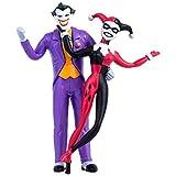 The Joker & Harley Quinn Animated Series Bendable Figure Pair (Blister Card), Standard