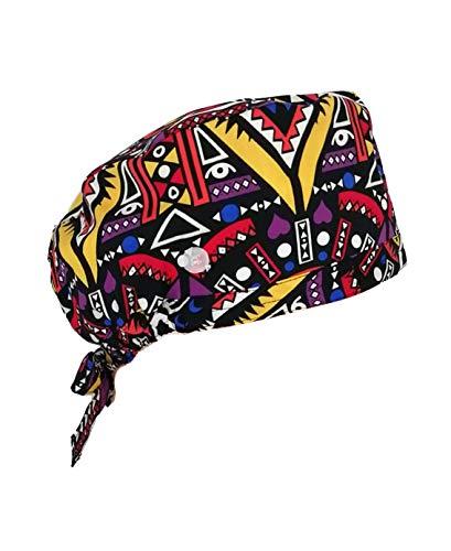 TAILOR'S Gorra de Trabajo con Botones con Banda para el Sudor Corbata Ajustable Sombrero