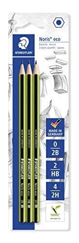 durezza 2H MAPED in legno Scatola di 12 matite in grafite Aveec punta gomma BlackPeps