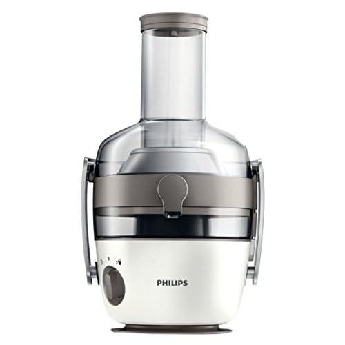 Philips HR1918/80 Centrifuga per Succhi di Frutta e Verdura, Tecnologia Fiberboost, Quickclean Plus per Pulizia Facile, 1000 Watt, Collezione Avance