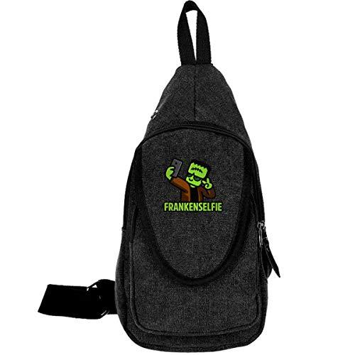 Franken Selfie Sling Bag Shoulder Chest Shoulder Bag Lightweight Casual Outdoor Sports Travel Hiking Multi-Function Backpack Men and Women