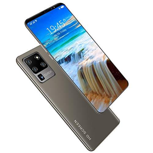 LINGZE Teléfonos móviles SIM Gratis Desbloqueado, teléfono Inteligente con cámara Dual Android 10.0, Pantalla HD de 6.1 Pulgadas, cámaras de Belleza de 13MP + 24MP, identificación Facial, Gris