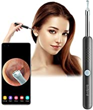 BEBIRD R1 Otoscope Ear Wax Removal Tool, Wireless Ear Endoscope 1080P HD Ear Camera with 3 Mega-Pixels, 6 LED Light, for All Mobile Devices