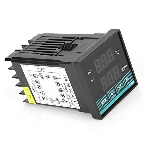 Controlador de temperatura del termostato conveniente utilizar larga vida de servicio rápida respuesta de tamaño pequeño para el gabinete de distribución tipo caja equipo de subestación
