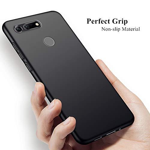 Wonanse Hülle für Huawei Honor View 20, Ultra-dünnen Luxus Scrub Shock Resistant Soft Gel TPU mit [Anti-Kratzer] [Drop Schutz] Case Cover für Honor View 20 [6.4inch] Schwarz - 5