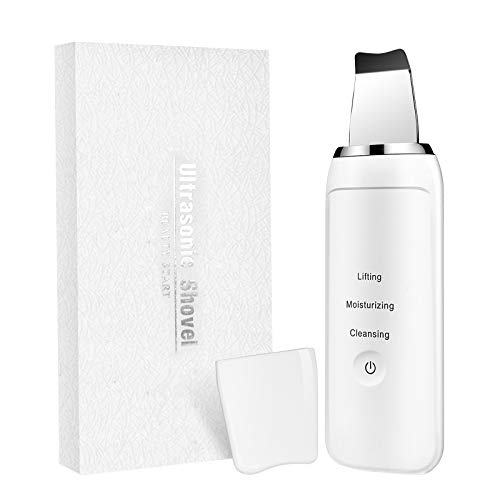 Skin Scrubber - Skin Spatula - Blackhead Remover Pore Cleaner with 3 Modes - Comedones Extractor for Facial Deep Cleansing