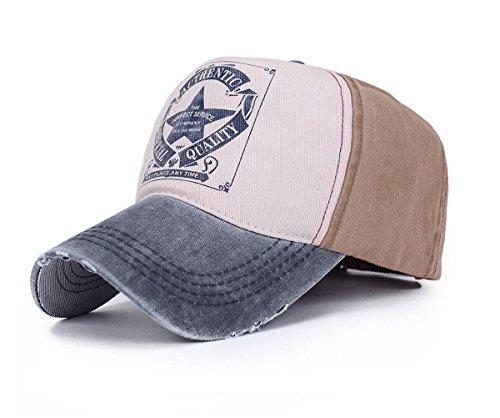 Gorra de Béisbol de algodón con visera
