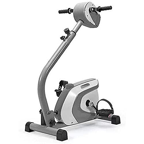 YVX Máquina de rehabilitación eléctrica, Equipo de Entrenamiento de rehabilitación de Miembros Superiores e Inferiores, ejercitador de Pedal de Brazos y piernas con Pantalla LCD