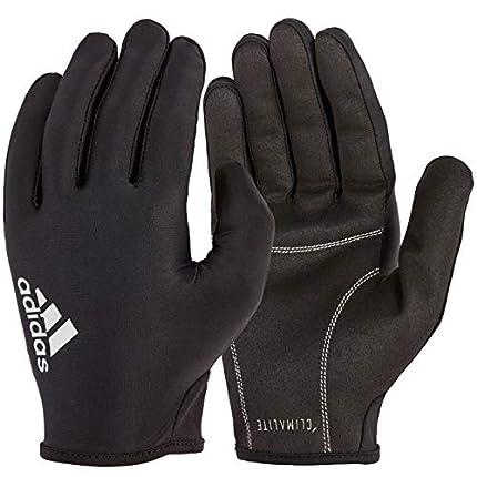 adidas Full Finger Essential Guantes de Fitness, Adultos Unisex, Negro / Blanco, XL-21.5-23 cm Alrededor de la Palma