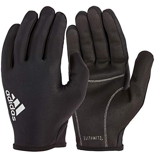 adidas Full Finger Essential Guantes de Fitness, Adultos Unisex, Negro / Blanco, S-18-19 cm Alrededor de la Palma