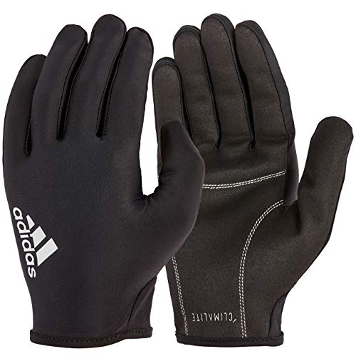 adidas Full Finger Essential Guantes de Fitness, Adultos Unisex, Gris, M-19-20 cm Alrededor de la Palma
