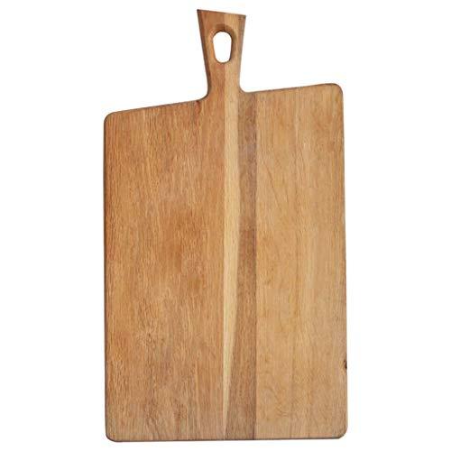 Oak snijplank Brood Snack Board Original Creative Scherpe Raad Unpainted Planken tafelgerei Decoratie snijplank Plate Kitchen Charcuterie Board (Size : 23.5cm)