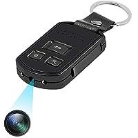 Die Mini Kamera im Autoschlüssel Design ist auch ideal als Überwachungskamera. Sie nimmt 1920*1080P HD Video auf, das Bild hat mehr als 12 Millionen Pixel, so dass Sie jedes Detail sehen können. Die tragbare kleine Kamera ist auch ein benutzerfreundl...