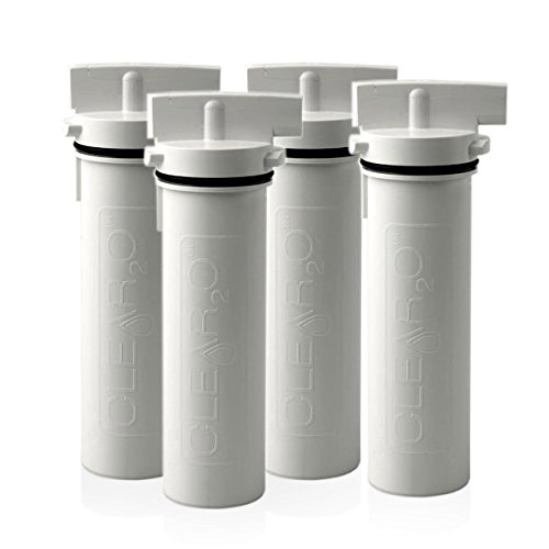Clear2O Replacement Water Pitcher Filter Pack of 4