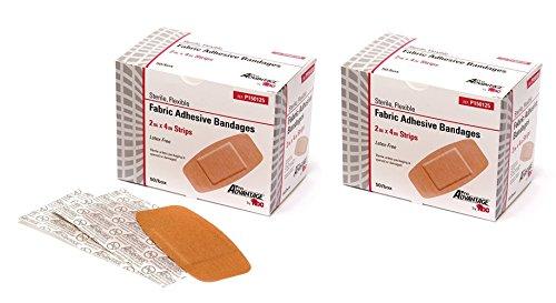 ProAdvantage P150125 Flexible Large Adhesive Bandages 2' x 4' (Pack of...