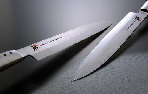 MIYABI Gyutoh Coltello, Acciaio Inossidabile, Nero, 16 cm