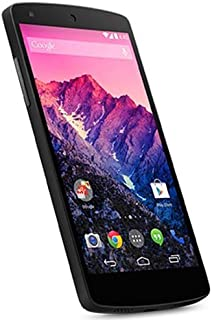 LG Google Nexus 5 (D821) 16GB , 3G, 8MP, KitKat Factory Unlocked World Mobile Phone - Black - No 4G in USA - International Version No Warranty