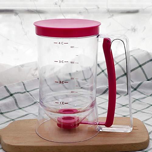 JJDN 4 Tasse 900Ml Pfannkuchen Cupcake Teig Spender Messetikett Küche Backzubehör