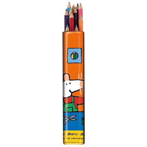 12 Crayons de couleurs - Petit Jour Paris