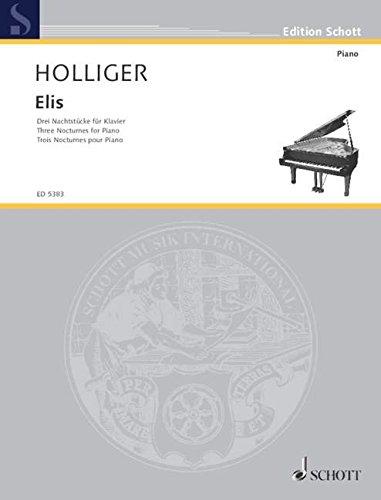 Elis: 3 Nachtstücke. Klavier. (Edition Schott)