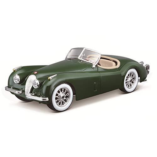 Modelo de Auto para 1951 Jaguar XK 120 Roadster Alloy Racing Aleación de automóviles Vehículo de Lujo Diecast Pull Back Cars Modelo de Regalo de colección de Juguete 1:24