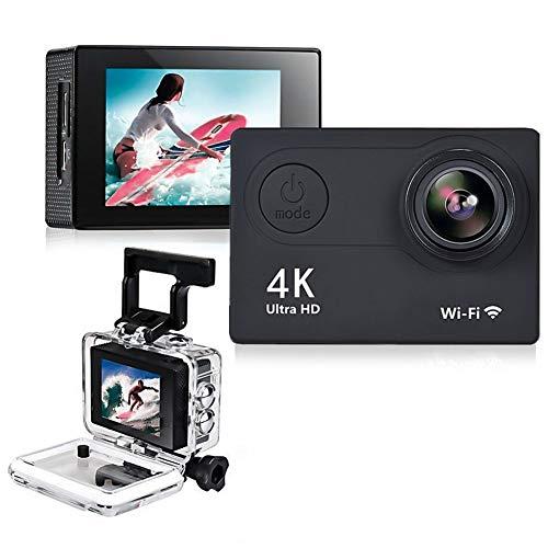 Cámara de acción HD 4 K WiFi 2 pulgadas 1080p/60 fps casco impermeable sumergible grabación vídeo DV cámara deportiva con mando a distancia