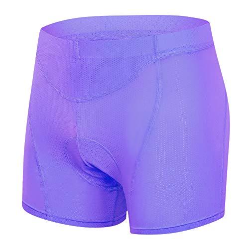 Black//Purple Louis Garneau Womens 2002 Bike Underwear Medium