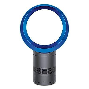Dyson Air Mulitplier AM06 Table Fan, 10 Inches, Iron/Blue