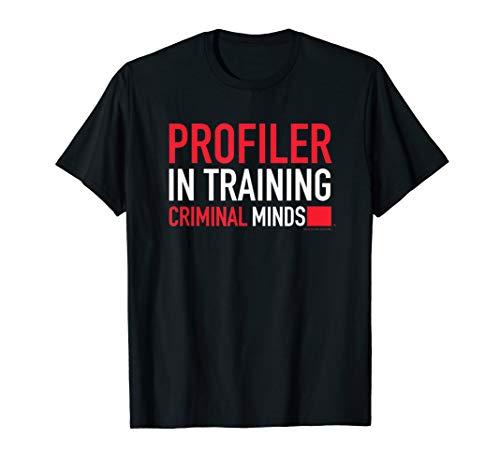Criminal Minds Profiler In Training T-Shirt