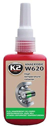 K2Füge des hochfest + hochtemperaturbeständig, 1K anerober Kleber, Klebstoff, weiblich selbstklebend Kunststoff, Lagerung, Kleber 50ml Flasche