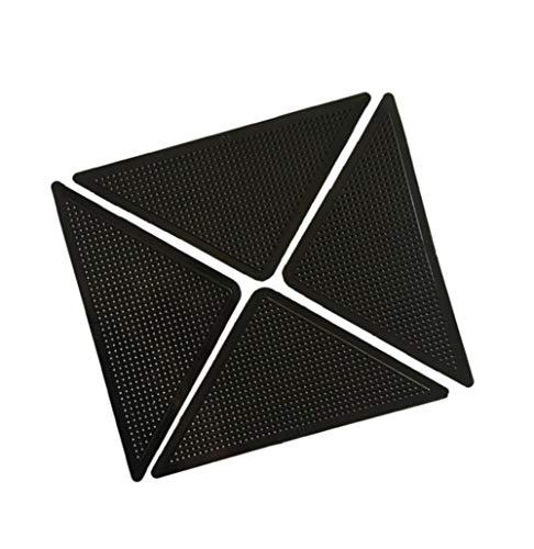 AIZYR rutschfeste Selbstklebende Teppichgreifer, Packung Mit 20 Stück Super Klebriger Teppich Klebriges PU-Material Nano-Design Schlafzimmer Foyer Wohnzimmer Teppichbodenmatten