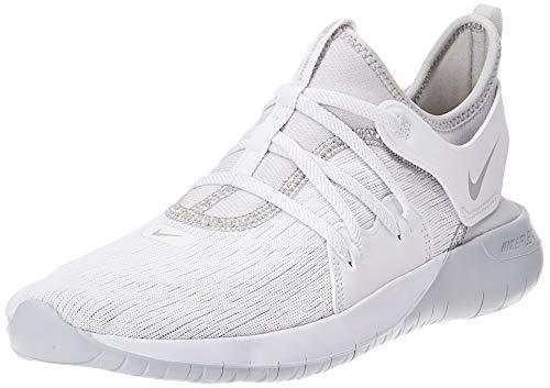 Nike Women's Flex Contact 3 Running Shoes White/Pure Platinum 7.5