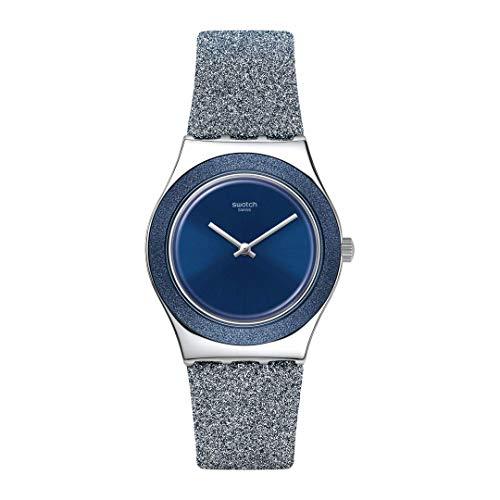 Montre Femme Swatch Blue Sparkle
