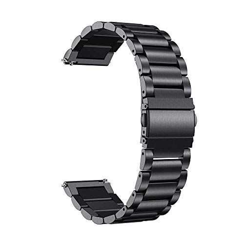Correa, Accesorios de Reloj Pulsera de 20 mm para Reloj Correa de Reloj Activa para Pulsera Gear S2 (Color: Oro Rosa, tamaño: para Gear S2)